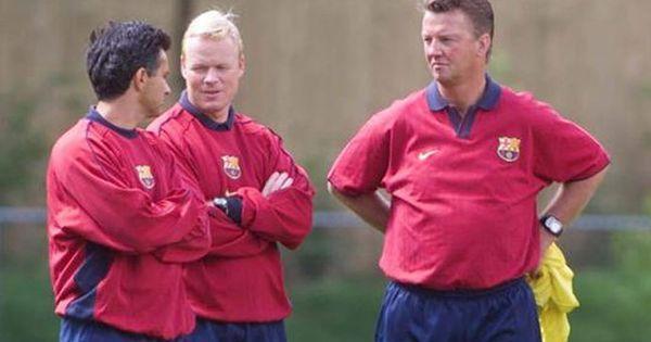 Không phải Mourinho, Koeman mới là cánh tay phải của Van Gaal hồi còn ở Barcelona