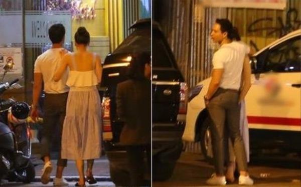 Hình ảnh Hà Hồ cùng Kim Lý bước vào khách sạn ở trung tâm TP.HCM được phóng viên ghi lại cách đây vài ngày.