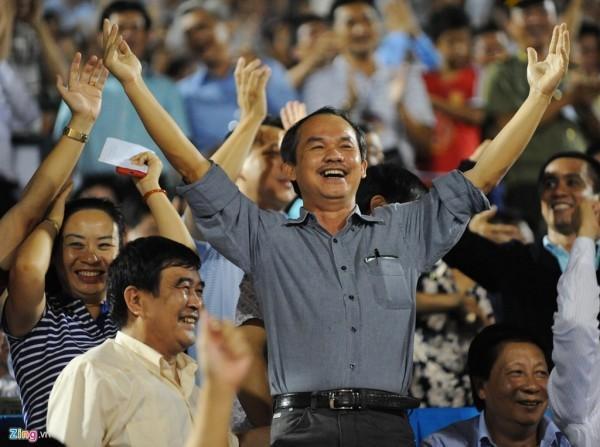 Bầu Đức hy vọng bóng đá Việt Nam sẽ được dự World Cup. Ảnh: Zing