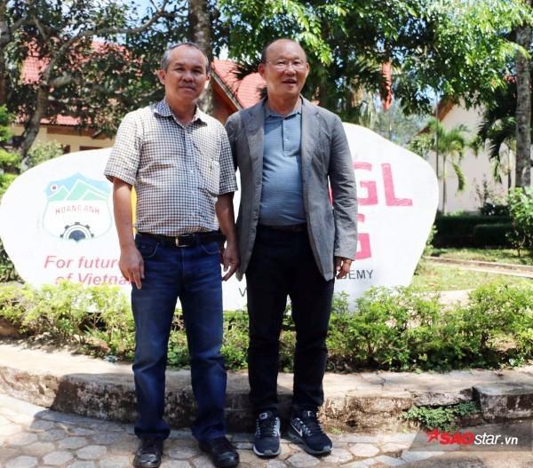 Bầu Đức có công lớn mời HLV Park Hang Seo về Việt Nam.