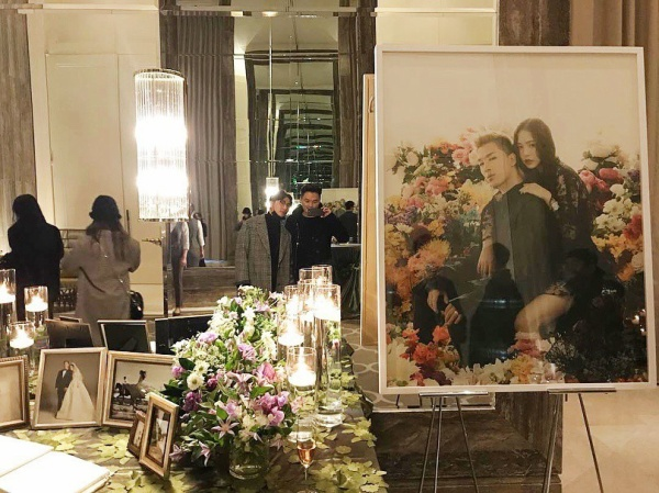 """Những hình ảnh rò rỉ từ đám cưới của cặp đôi nghệ sĩ khiến các fan """"phát sốt""""."""