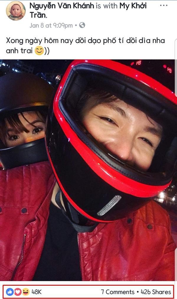 Kelvin Khánh cũng không hề kém cạnh vợ về mức độ quan tâm của người hâm mộ khi sở hữu trang fanpage với số lượng theo dõi ngót nghét 6 triệu.
