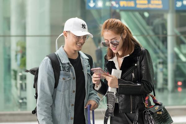 Cả hai đang đi du lịch cùng nhau tại Hàn Quốc.