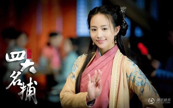 """Trong tác phẩm """"Thiếu niên Tứ đại danh bổ"""", Trương Quân Ninh vào vai Sở Ly Mạch."""