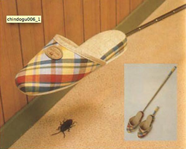 Người Nhật đúng là rất sáng tạo và tối giản. Họ luôn thích tạo ra những món đồ có nhiều công dùng: dép kiêm đập gián này là một trong số đó.