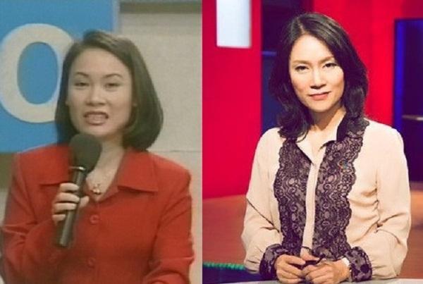 Nhà báo Tạ Bích Loan là MC đầu tiên của Đường lên đỉnh Olympia năm đầu tiên- năm 1999. Chị cũng là người đưa ra ý tưởng về biểu tượng của chiếc vòng nguyệt quế dành cho người thắng cuộc. Hiện tại, Tạ Bích Loan là Trưởng ban Sản xuất các chương trình giải trí VTV3.