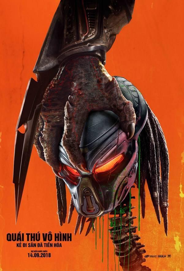 Poster chính thức của The Predator tại Việt Nam.