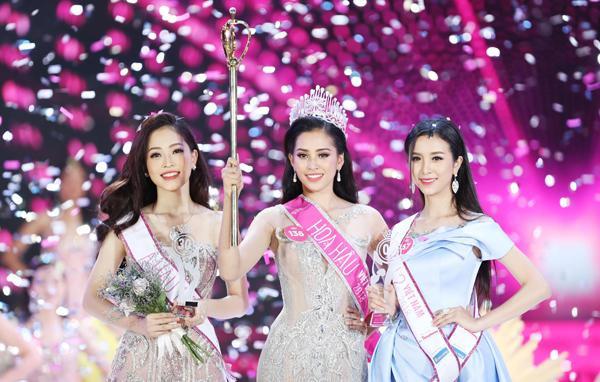 Nhan sắc đẹp ngây ngất của top 3 Hoa hậu Việt Nam 2018