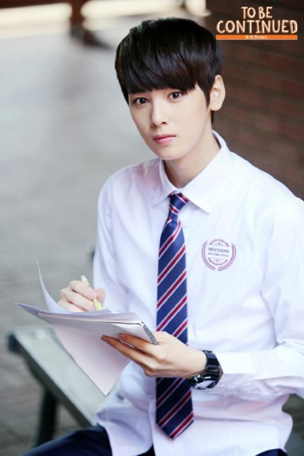Vẻ đẹp xuất thần của Cha Eun Woo trong bộ phim