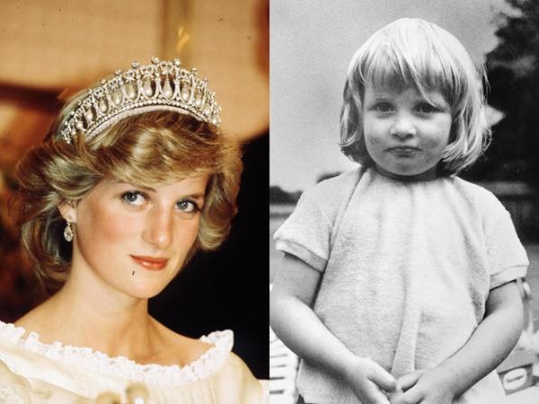 Công nương Diana đã có tuổi thơ chịu nhiều tổn thương.