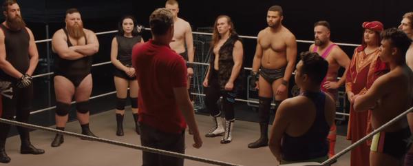 The Rock Dwayne Johnson trở lại màn ảnh với bộ phim về nữ đô vật Mỹ WWE Paige Saraya-Jade Bevis ảnh 4