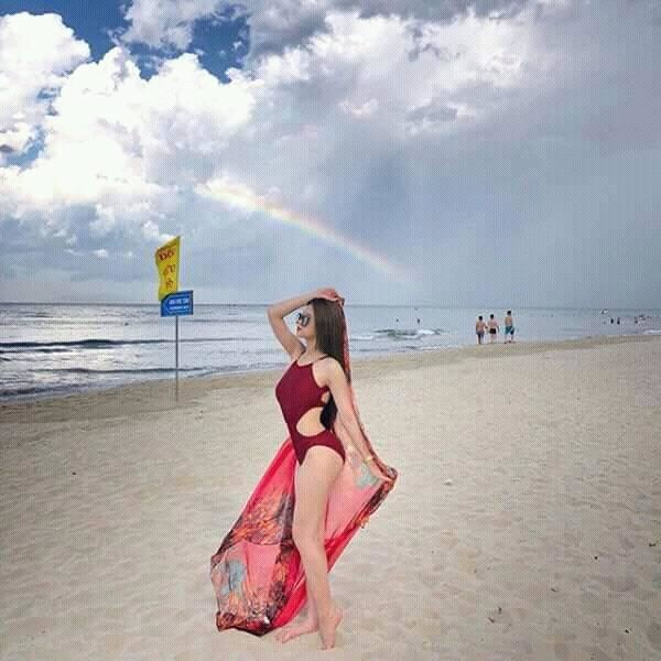 Một số hình ảnh mới nhất của hot girl Linh Ka.