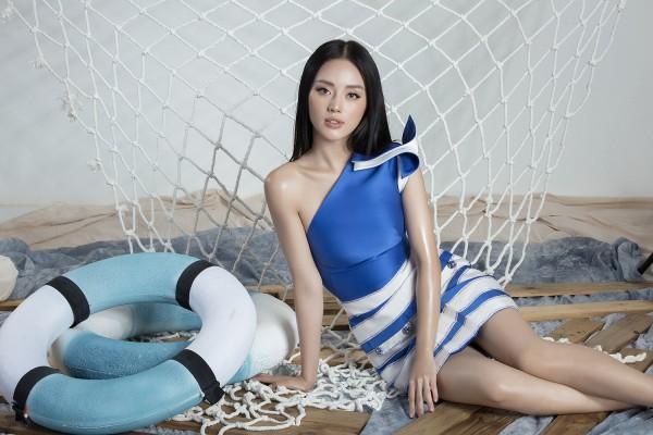 Trước H'Hen Niê, Khánh Linh The Face cũng từng diện qua outfit này.