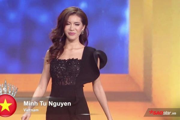 Rớt khỏi Top 5, Minh Tú nghẹn ngào nước mắt Xin lỗi fan Việt, mình đã cố gắng nhưng ảnh 0