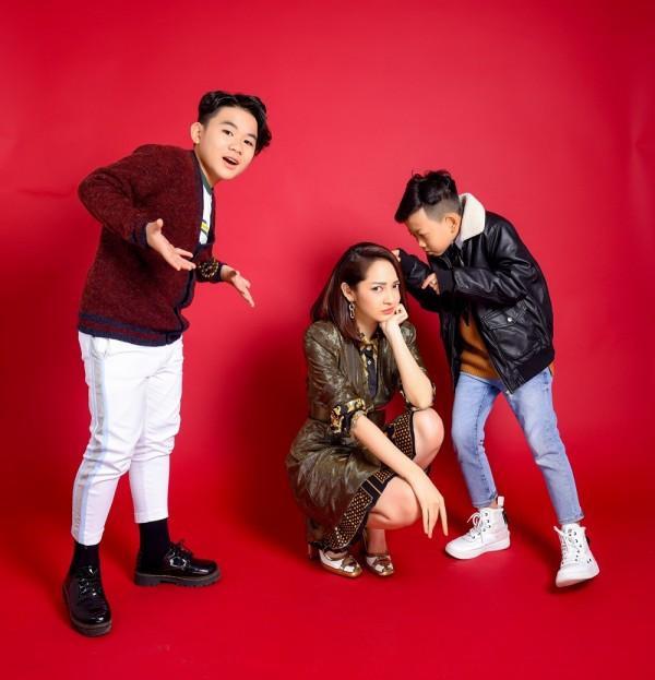 Nữ ca sĩ luôn là một chỗ dựa tinh thần vững chắc cho các thí sinh của mình tại The Voice Kids 2018.