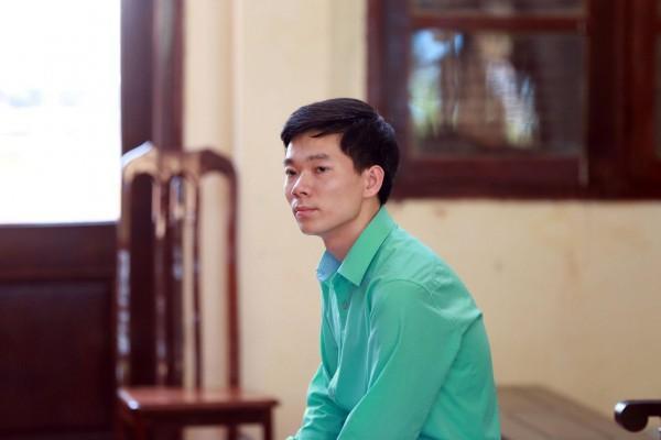 Bị cáo Hoàng Công Lương trong phiên xét xử hồi tháng 5/2018 vừa qua.