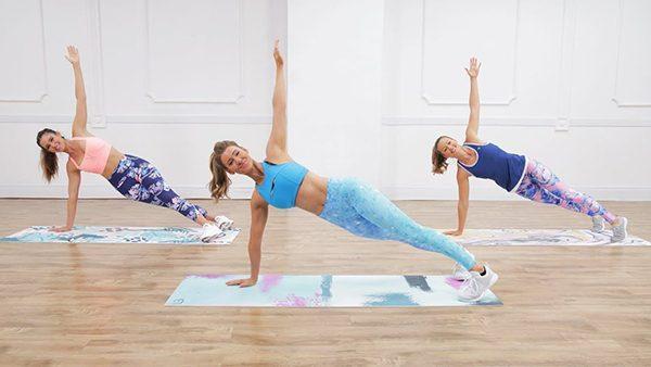 Lời khuyên của Ana nên xen kẽ các bài tập Plank để tập trung vào phần cơ cốt lõi và cơ bụng giúp đốt cháy mỡ thừa nhanh chóng hơn