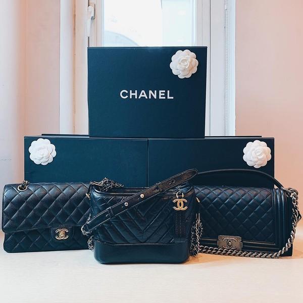 3 chiếc túi hiệu Chanel đẹp long lanh.