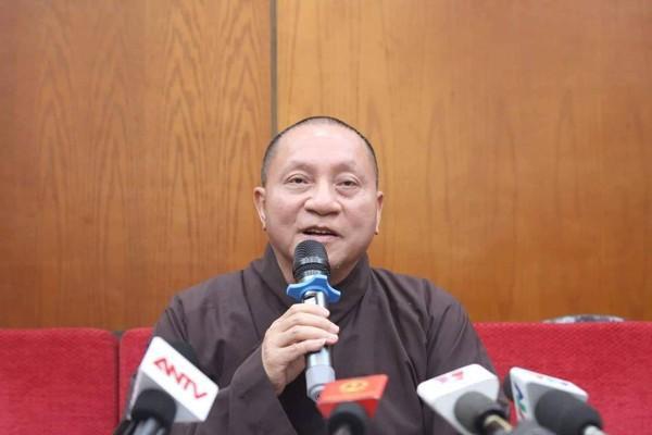 Hòa thượng Thích Gia Quang, Phó Chủ tịch Hội đồng trị sự Trung ương Giáo hội Phật giáo Việt Nam.