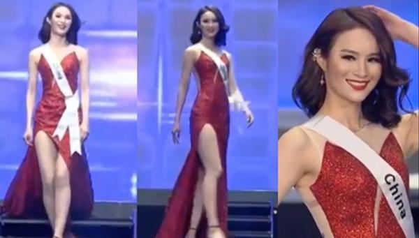 Miss Eco China 2019 trong đêm chung kết vừa diễn ra tại Ai Cập.