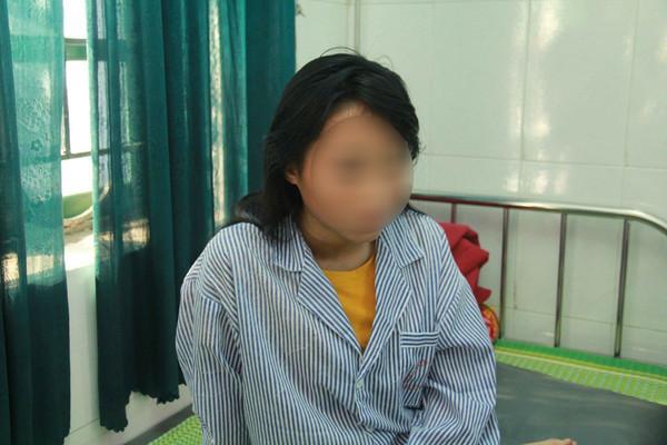 Nữ sinh Y hiện đang điều trị tại bệnh viện.