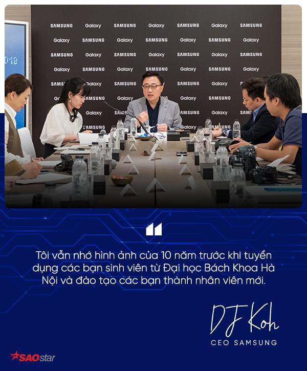 CEO Samsung: Giới trẻ Việt Nam thích ứng quá nhanh với những sự thay đổi của công nghệ! ảnh 2