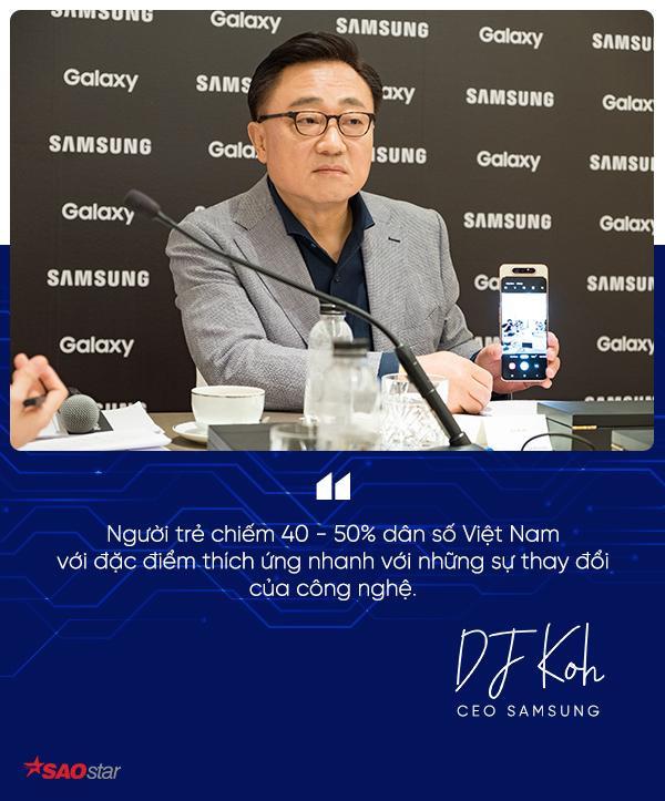 CEO Samsung: Giới trẻ Việt Nam thích ứng quá nhanh với những sự thay đổi của công nghệ! ảnh 6
