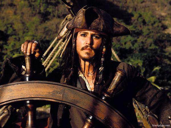Nhân vật huyền thoại - thuyền trưởng Jack.
