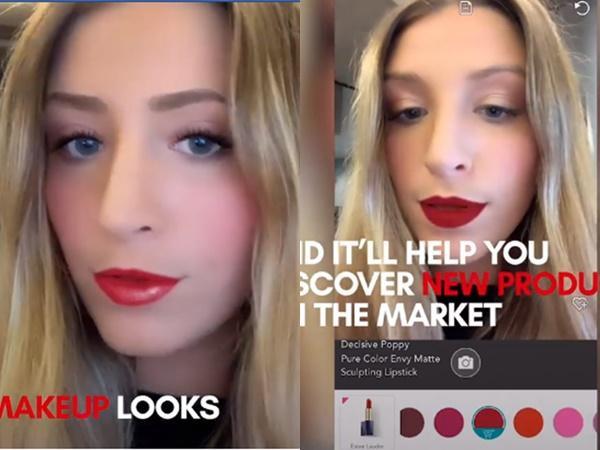 """Hay son cũng dễ dàng thay đổi với """"YouCam Makeup-Magic Selfie Cam""""."""