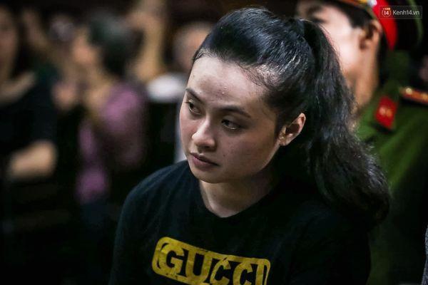 Ngọc Miu tại phiên tòa ngày 8/5.