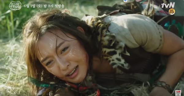 Teaser Arthdal Chronicles:Song Joong Ki cưỡi ngựa chiến đấu, Kim Ji Won khóc lóc thảm thiết, bị kéo lê trên đường ảnh 6