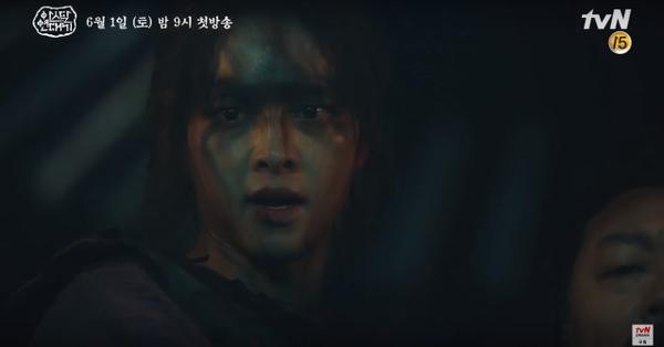 Teaser Arthdal Chronicles:Song Joong Ki cưỡi ngựa chiến đấu, Kim Ji Won khóc lóc thảm thiết, bị kéo lê trên đường ảnh 4