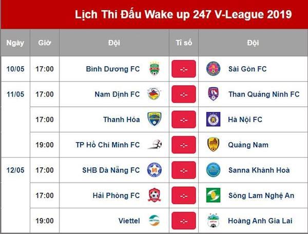 Lịch thi đấu vòng 9 V.League: Bùi Tiến Dũng hồi hương, Văn Toàn đụng Quế Ngọc Hải ảnh 4