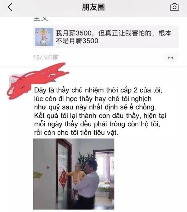 Câu chuyện của cô gái Trung Quốc khiến nhiều người bật cười.