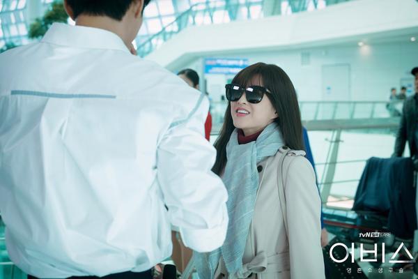 Park Bo Young xinh xắn với mái tóc dài.