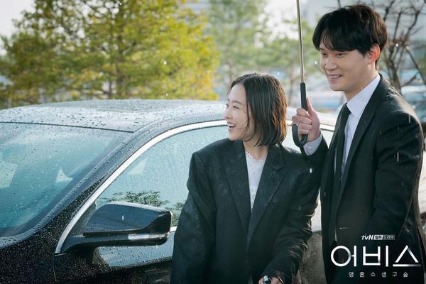 Abyss: Hậu trường tươi sáng của cặp chị em Park Bo Young và Ahn Hyo Seop ảnh 6
