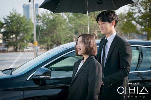 Abyss: Hậu trường tươi sáng của cặp chị em Park Bo Young và Ahn Hyo Seop ảnh 4