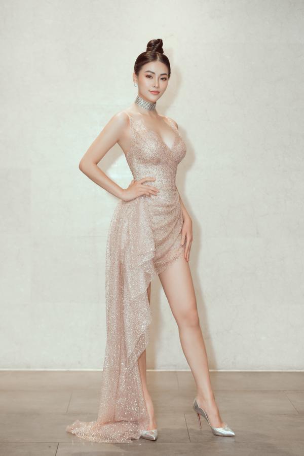 Gục ngã vì nhan sắc cực phẩm của Phương Khánh trong chiếc đầm mỏng tang như sương, ảnh 8