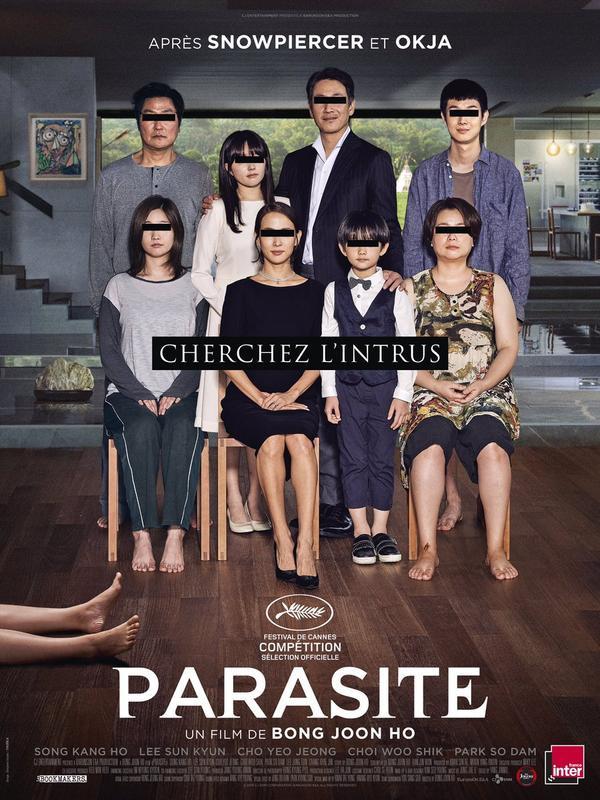 Ký sinh trùng của Bong Joon Ho và Song Kang Ho gây ám ảnh khi phát hành poster chính thức cho LHP Cannes 2019 ảnh 1