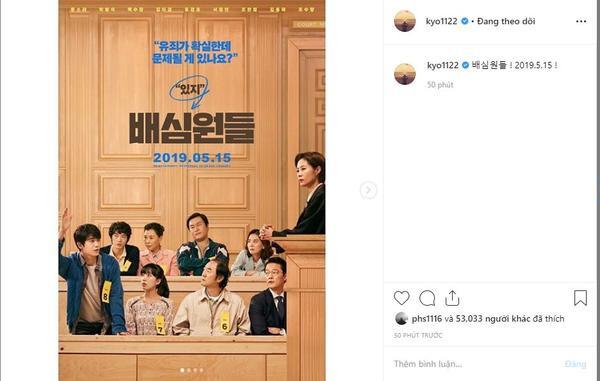 """Song Hye Kyo: """"Jurors! 15/05/2019""""."""