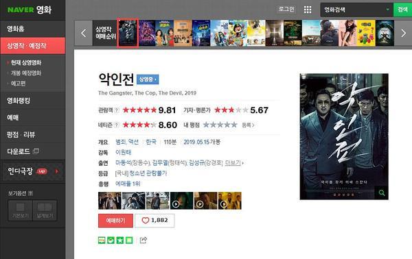 Phim The Gangster, The Cop, The Devil của Ma Dong Seok đạt điểm gần như tuyệt đối trên Naver ảnh 0