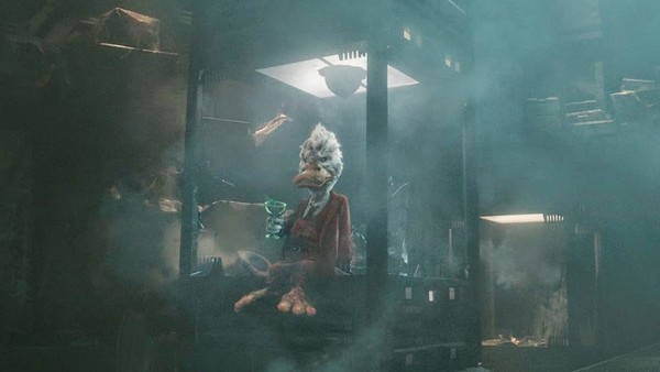 Howard the Duck từng xuất hiện ở Guardians of the Galaxy 1.