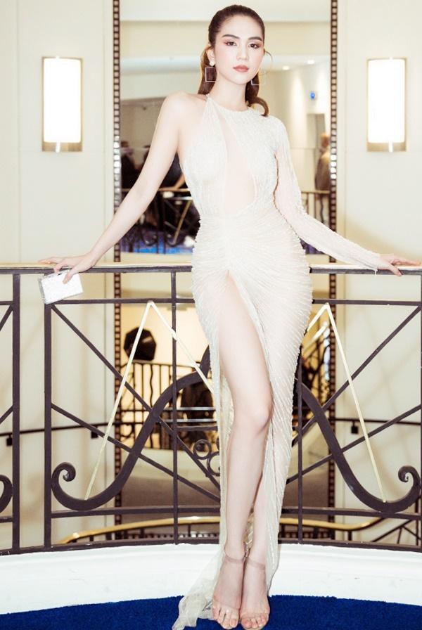 Ngọc Trinh thực sự tỏa sáng ở Liên hoan phim Cannes.