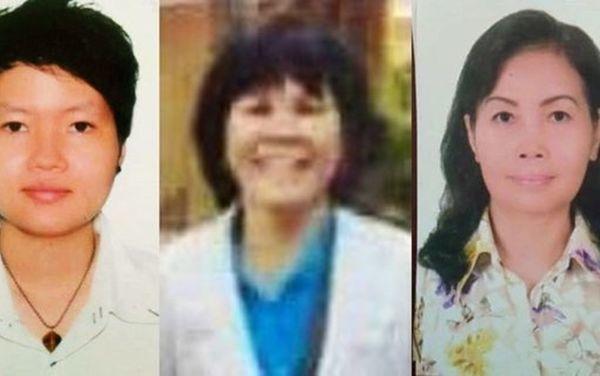 Nhóm 3 người phụ nữ được cho là liên quan đến vụ án gây rúng động dư luận