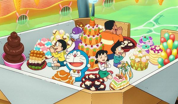 Trở lại tuổi thơ với Doraemon: Nobita và Mặt trăng phiêu lưu ký ảnh 4