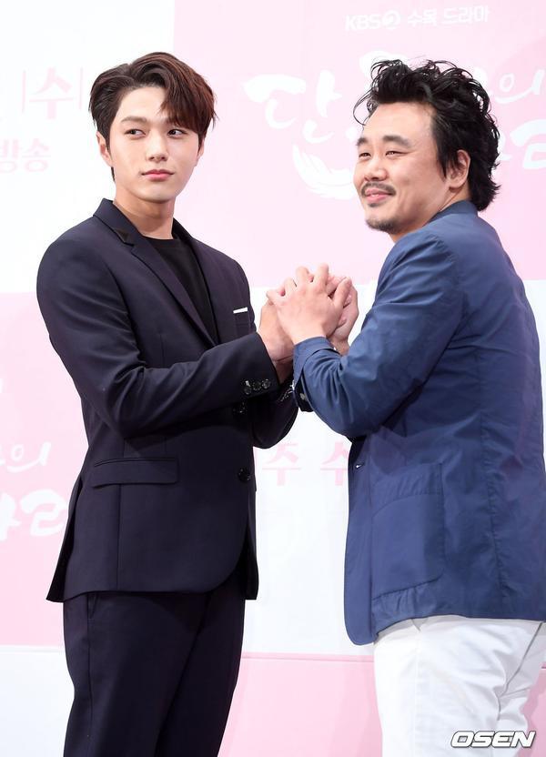 Họp báo Dan Only Love: Shin Hye Sun thùy mị bên L (Infinite) và tài tử Lee Dong Gun ảnh 13