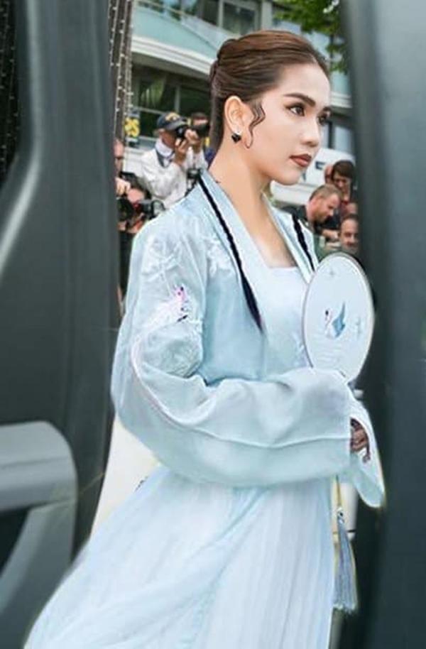 Bộ đồ của các tiểu long nữ trong phim cổ trang Trung Quốc. (Nguồn: Internet)