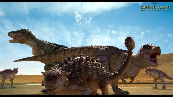 Vua khủng long: Phiêu lưu đến vùng núi lửa đầy hứa hẹn cho tương lai phim hoạt hình Hàn Quốc ảnh 4