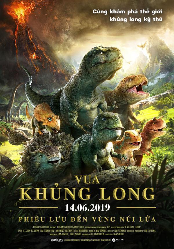 Vua khủng long: Phiêu lưu đến vùng núi lửa đầy hứa hẹn cho tương lai phim hoạt hình Hàn Quốc ảnh 0