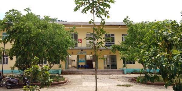 Khuôn viên bệnh viện